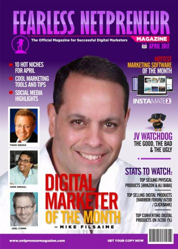 Fearless Netpreneur Magazine Offers Ultimate Continuously Growing Business Resource For Digital Marketers