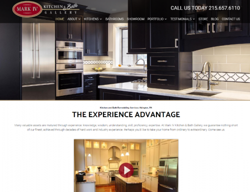 Kitchen Remodeling Expert Mark IV Launches Newly Designed Website Marketers