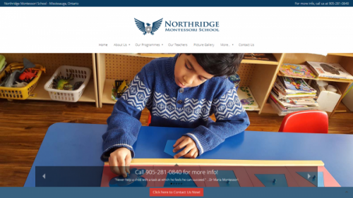 Northridge Montessori School Launched Newly Redesigned and Updated Website