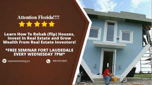Real Estate Investment Florida Announces Training Invest