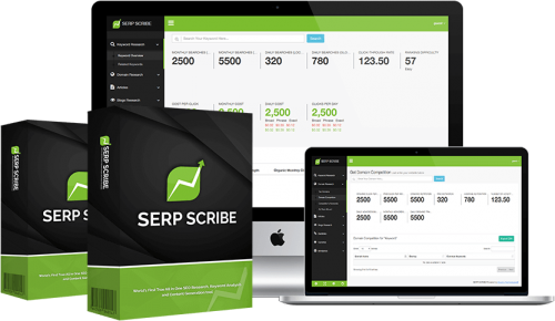 SERPScribe Allows People To Create A Fully Unique Article And Optimize It For SEO Easily In One Click