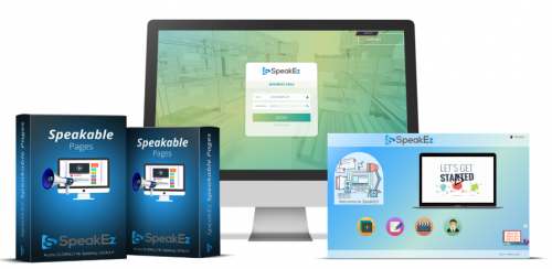 SpeakEz – A Web-Based Application That Enables Marketers To Create Speakable Pages For Capturing Visitors