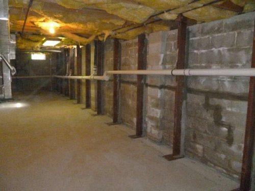 Grand Prairie Tx Basement Foundation Wall Slab Repair