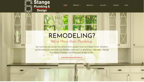Stange Plumbing Design Unveils A Newly Redesigned