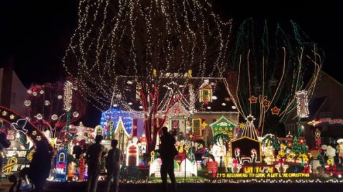 Tacky Light Tour 2017 In Richmond Virginia Hosted By