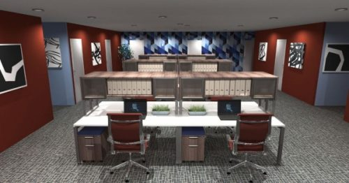 The Firm Specializes In Custom Office Furniture Design And Office Interior  Design, Engineering, And Installation.