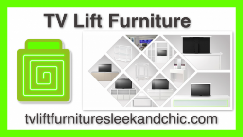 each hidden tv lift cabinet is custom built to exact tv lift furniture specializes in highend designs that are sleek and chic