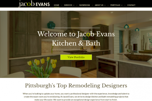 Kitchen and bath remodeling company jacob evans debuts for Bathroom remodel yakima wa