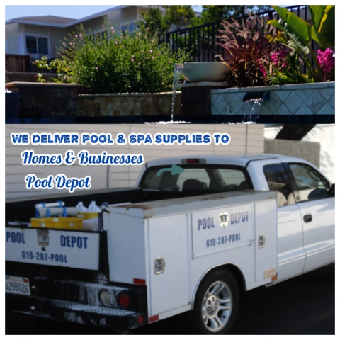 New Swimming Pool Spa Supply Delivery Service For San Diego El Cajon