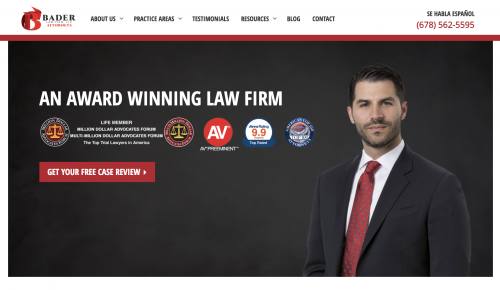 Bader Law Firm, LLC Announces Launch of New Website for ...