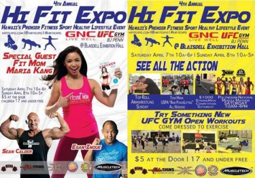 Hi Fit Expo Hawaii's Premier Fitness, Sports, and Healthy