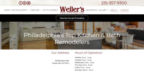 Terrific Weilers Kitchen Bath Design Is Now Servicing Philadelphia Interior Design Ideas Gentotryabchikinfo