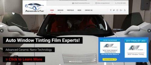 Window Tinting Sacramento >> Premier Auto Tint Best Window Tinting 2018 Award Nomination