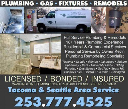 Tacoma WA Plumber Water Heater Repair Bathroom Remodeling Serv - Bathroom remodel tacoma