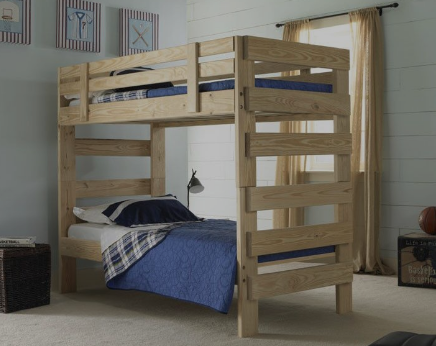 Orange County Solid Wood Bunk Beds Provide Style And Safety For Children Daily Sports Club