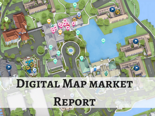 Why Digital Map Hosting Market is Highly growing in Service