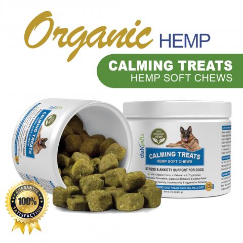 Calming Treats For Aggressive Dogs