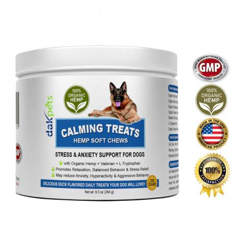 Dog Calming Treats Amazon