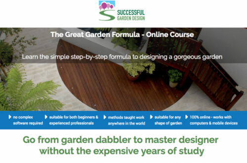 The Course Teaches Garden Design Right Up To Professional Level Using Video  Tutorials, PDFs And Inspiration Galleries To Fast Track The Learning  Process.