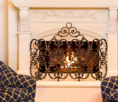 An Expanded Range Of Fire Screens And Fireplace Protectors Has Been  Launched By Home Market Interiors. The Plano, TX Interior Design Experts  Are Known For ...