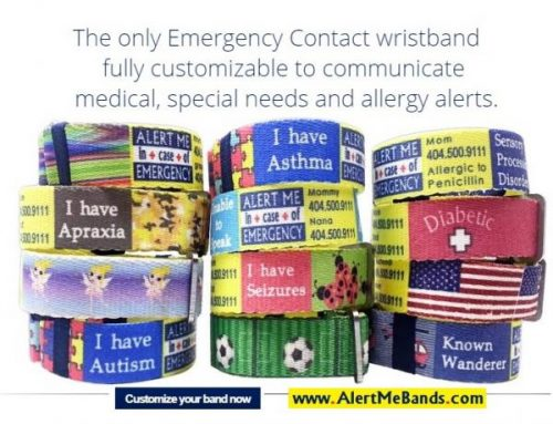 Medical Alert Kids Id Bracelet Free For Children Custom Allergy Autism Alerts