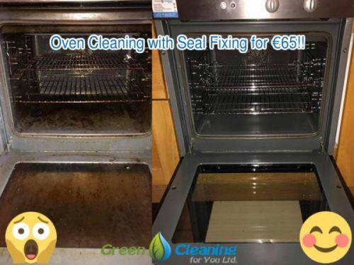 Dublin Eco Friendly Cleaning Contractor Green For You Updated Its Services To Provide Professional Oven Residents And