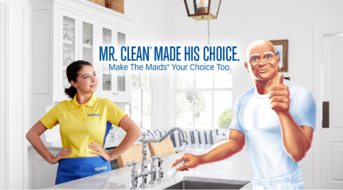 Mr Clean Partners With The Maids Of