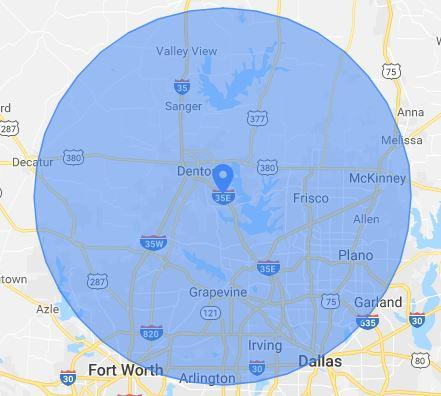 Denton Ohio Map.Appliance Repair Company In Denton Tx Waives Service Fee In New