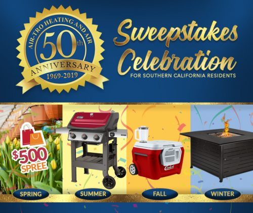 Air Tro Heating And Air Conditioning Announces 50th