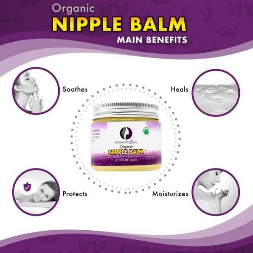 Free Organic Nipple Balm For Breastfeeding Pain Relief With Any Purchase Of Mommyz Love Products Marketersmedia