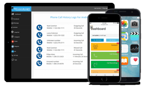 Cell Phone Tracker and Monitoring App Features