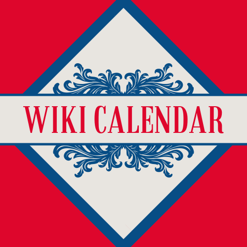 graphic relating to Printable Wiki named Wiki Calendar Delivers a Total Fresh new Assortment of Highly developed