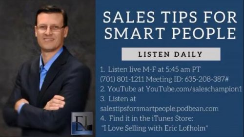 Sacramento Sales Trainer Broadcasts Daily 15-Minute