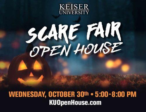Keiser University Melbourne Halloween 2020 Keiser University to Host Annual Scare Fair statewide in Florida